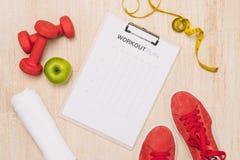 Perdita di peso, funzionamento, cibo sano, concetto sano di stile di vita fotografie stock