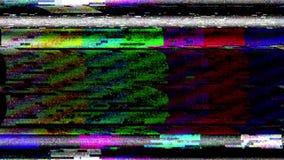 Perdita di segnale all'antenna satellitare della TV illustrazione di stock