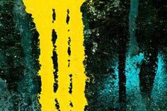 Perdita variopinta della vernice di spruzzo Fotografia Stock Libera da Diritti