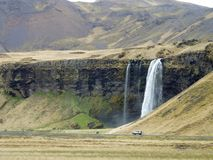 PERDU EN ISLANDE Image libre de droits