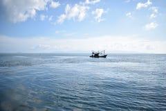 Perdu en mer, Koh Tao Images libres de droits