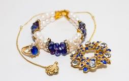 Perełkowa biżuteria Obraz Royalty Free