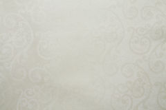 Perełkowej białej kolor sztucznej tkaniny splendoru artsy tekstura zdjęcia royalty free