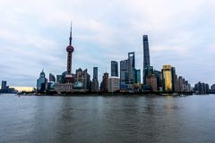 perełkowy Oriental wierza Shanghai obraz royalty free