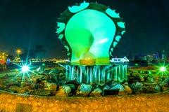 Perełkowy Pomnikowy Doha zdjęcia royalty free