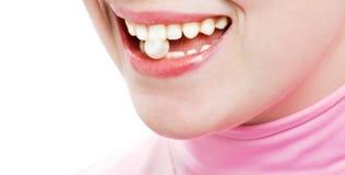 perełkowy uśmiech Obrazy Stock