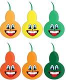Pere differenti di colori royalty illustrazione gratis