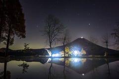Perełkowy Fuji Fotografia Stock