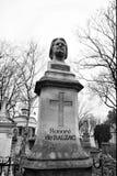 从Pere Lachaise公墓巴黎的雕塑 免版税图库摄影