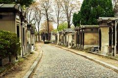 Pere-lachaise公墓 免版税库存图片