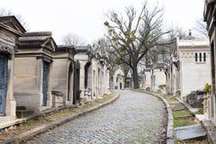Pere Lachaise公墓 库存图片