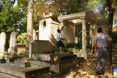 Pere Lachaise公墓 免版税图库摄影