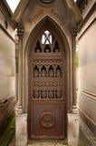 Pere Lachaise陵墓 库存照片