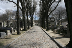 Pere Lachaise Royalty Free Stock Photography