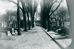 Pere Lachaise Stock Photo