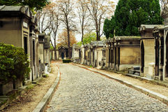 Pere-Lachaise begraafplaats royalty-vrije stock afbeeldingen