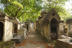 Pere Lachaise Cemetery imagens de stock royalty free