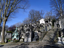 Pere Lachaise Cemetery #26 Stock Photography