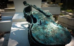 Pere Lachaise Cemetery en Francia Fotos de archivo libres de regalías