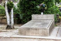 Pere Lachaise Cemetery france paris Royaltyfria Foton
