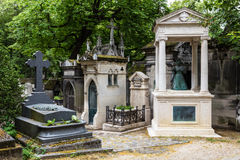 Pere Lachaise Cemetery france paris Fotografering för Bildbyråer
