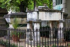 Pere Lachaise Cemetery france paris Arkivbilder