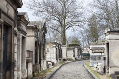 Pere Lachaise Cemetery Stock Photography