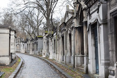 Pere Lachaise Cemetery Royalty Free Stock Photography