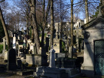 Pere Lachaise Cemetery Royalty Free Stock Photos