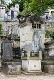 Pere Lachaise Cemetery París, Francia Foto de archivo libre de regalías