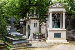 Pere Lachaise Cemetery Paris, France Imagem de Stock