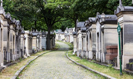 Pere Lachaise Cemetery Paris, France Imagem de Stock Royalty Free