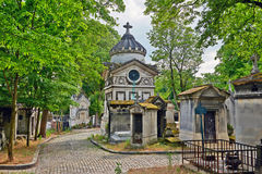 Pere Lachaise cemetery, Paris Royalty Free Stock Image