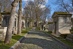 Pere Lachaise cemetery, Paris Royalty Free Stock Images