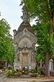 Pere Lachaise cemetery, Paris Royalty Free Stock Photos