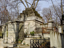 Pere Lachaise Cemetery #11 Royalty Free Stock Photography
