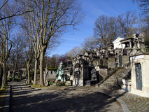 Pere Lachaise Cemetery #28 Royalty Free Stock Photography