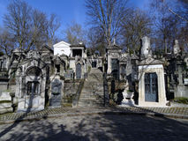 Pere Lachaise Cemetery #29 Royalty Free Stock Image