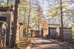 Pere-Lachaise cemetery Stock Photography