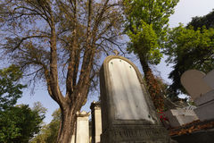 Pere Lachaise Cemetery Royalty Free Stock Photo