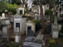 Pere Lachaise Cemetery #3 royalty free stock images