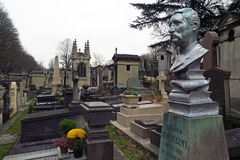 Pere Lachaise Cemetery #3 Royalty Free Stock Image