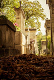 Pere Lachaise cemetry Paris Stock Photography
