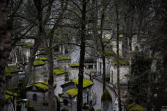Pere-lachaise cmentarz Zdjęcia Stock
