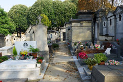 Pere Lachaise cmentarz Zdjęcia Royalty Free