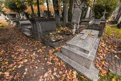 Pere Lachaise graveyard Royalty Free Stock Images
