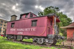 Pere Marquette Caboose Royalty Free Stock Photography