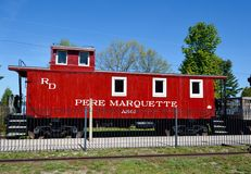 A Pere Marquette Cabose Royalty Free Stock Photography
