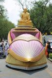 Peregrinação budista imagens de stock