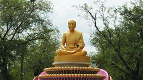 Peregrinaje budista imagenes de archivo
